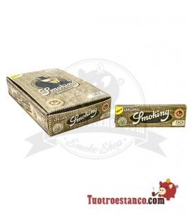 Papel Smoking Orgánico 1 1/4 de 78 mm - 25 libritos