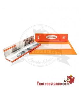 Papel Futurola Orange King Size de 108 mm