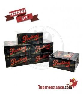 PROMOCIÓN 5 + 1 Papel Smoking King Size (1 x 50)