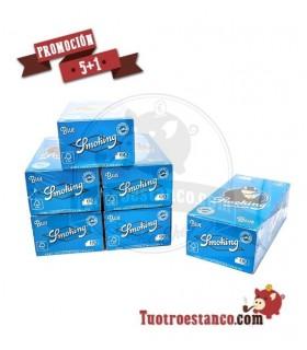 PROMOCIÓN 5 + 1 Papel Smoking Nº8 Blue (1x50)