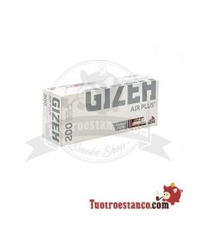 Tubos Gizeh Air Plus - 1 cajita de 200 tubos