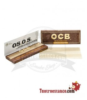 Papel OCB Virgin 1 ¼ de 78 mm