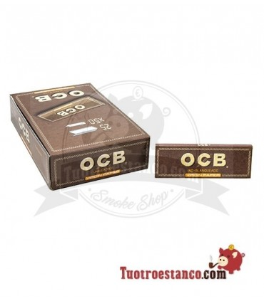 Papel OCB virgin 1 ¼ de 78 mm - 25 libritos