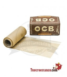 Papel OCB Virgin Rollo Slim de 4 m