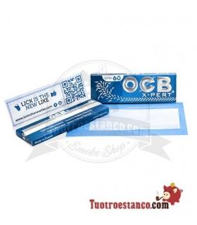 Papel OCB Azul X-pert de 70 mm
