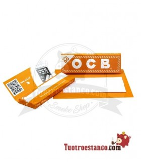Papel OCB Naranja de 70 mm