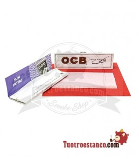 Papel OCB Blanco Slim de 110 mm