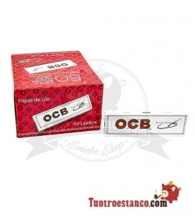 Papel OCB Blanco Slim de 110 mm - 50 libritos