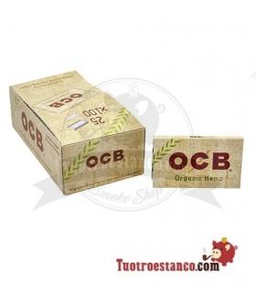Papel OCB Orgánico Nº4 Doble Ventana de 70 mm - 25 libritos
