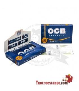 Papel OCB Ultimate 300 de 75 mm