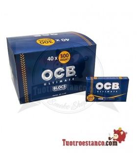 Papel OCB Ultimate 300 de 75 mm - 40 libritos