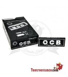Papier OCB Premium 1 1/4-78 mm - 25 livrets