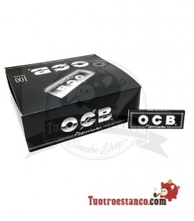 Papel OCB Premium 1 1/4 de 78 mm - 100 libritos