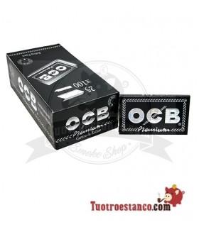 Papel OCB Premium Doble Ventana Nº4 de 70 mm - 25 libritos