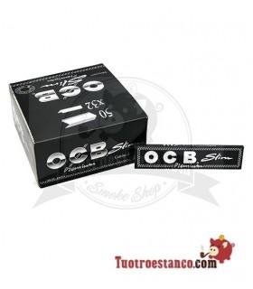 Papel OCB Premium Slim de 110 mm - 50 libritos