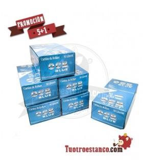 Papel OCB Azul X-Pert 5 Estuches + 1 Gratis - 300 libritos