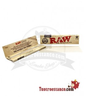 Raw King Size, mide 110 x 75 mm.
