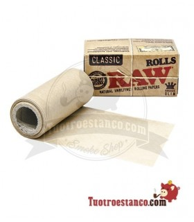 Papel RAW Rollo King Size de 5 m