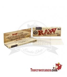 Papel RAW 1 1/4 de 78 mm (64 hojas)