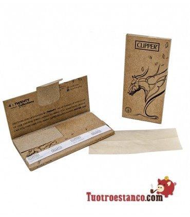 Papel Clipper Coleccionable King Size + Tips Premium Animal Trees