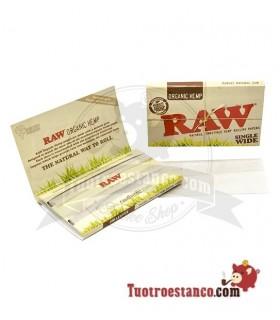 Papel Raw doble ventana orgánico