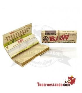Papel Raw orgánico 1 1/4 + tips