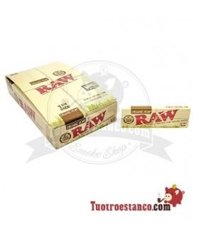 Papel RAW Orgánico 1 1/4 de 78 mm - 24 libritos