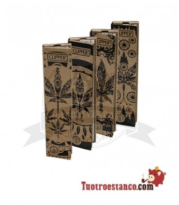 Papel Clipper Coleccionable KingSize + Tips Leaves Tattoo