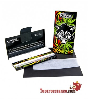 Papel Clipper Coleccionable King Size + Tips Premium Wild Weed