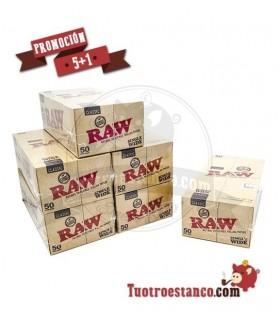 PROMOCIÓN 5+1 Papel RAW Nº8 5 Estuches + 1 Gratis - 300 libritos