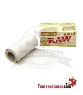 Papel RAW Orgánico Rollo de 5 m