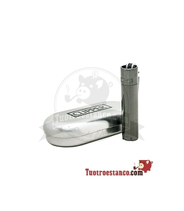 Clipper Micro Metálico Platted Assort + Estuche Metálico