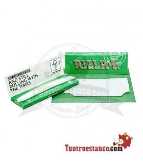 Papel Rizla + Verde Regular de 70 mm