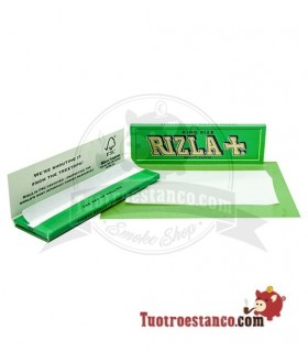 Papel Rizla + Verde King Size Regular de 98 mm