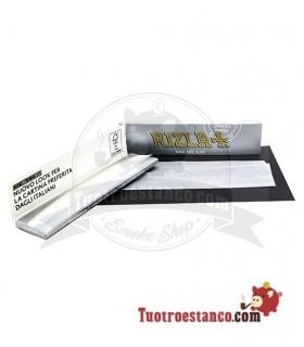 Papel Rizla + Plata King Size de 110 mm