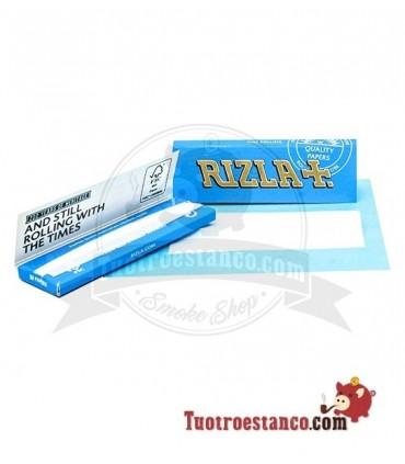 Papel Rizla + Azul Regular de 70 mm
