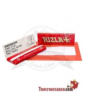 Papel Rizla + Rojo Regular de 70 mm