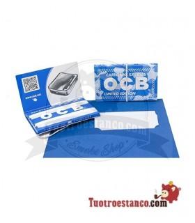 Papel OCB Azul Doble Ventana Edición Limitada