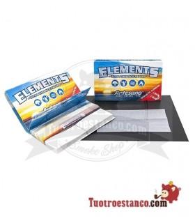 Papel de Arroz Elements Artesano 1 1/4 + Tips