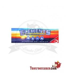 Papel de Arroz Elements 1 1/4 78 mm cierre magnético