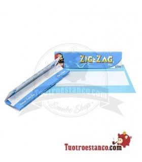 Papel Zig-Zag Azul King Size de 110 mm