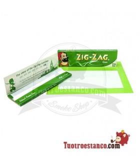 Papel Zig-Zag Verde King Size de 110 mm