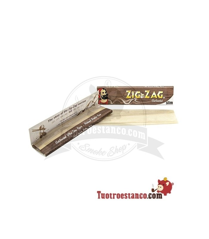 Papel Zig-Zag Orgánico King Size de 110mm