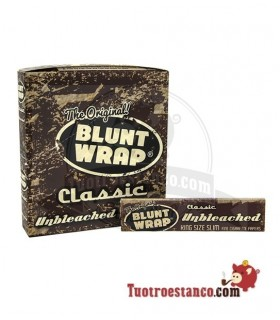 Papel Blunt Wrap Classic de 110 mm - 25 libritos