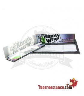 Papel Blunt Wrap Plata King Size de 110 mm