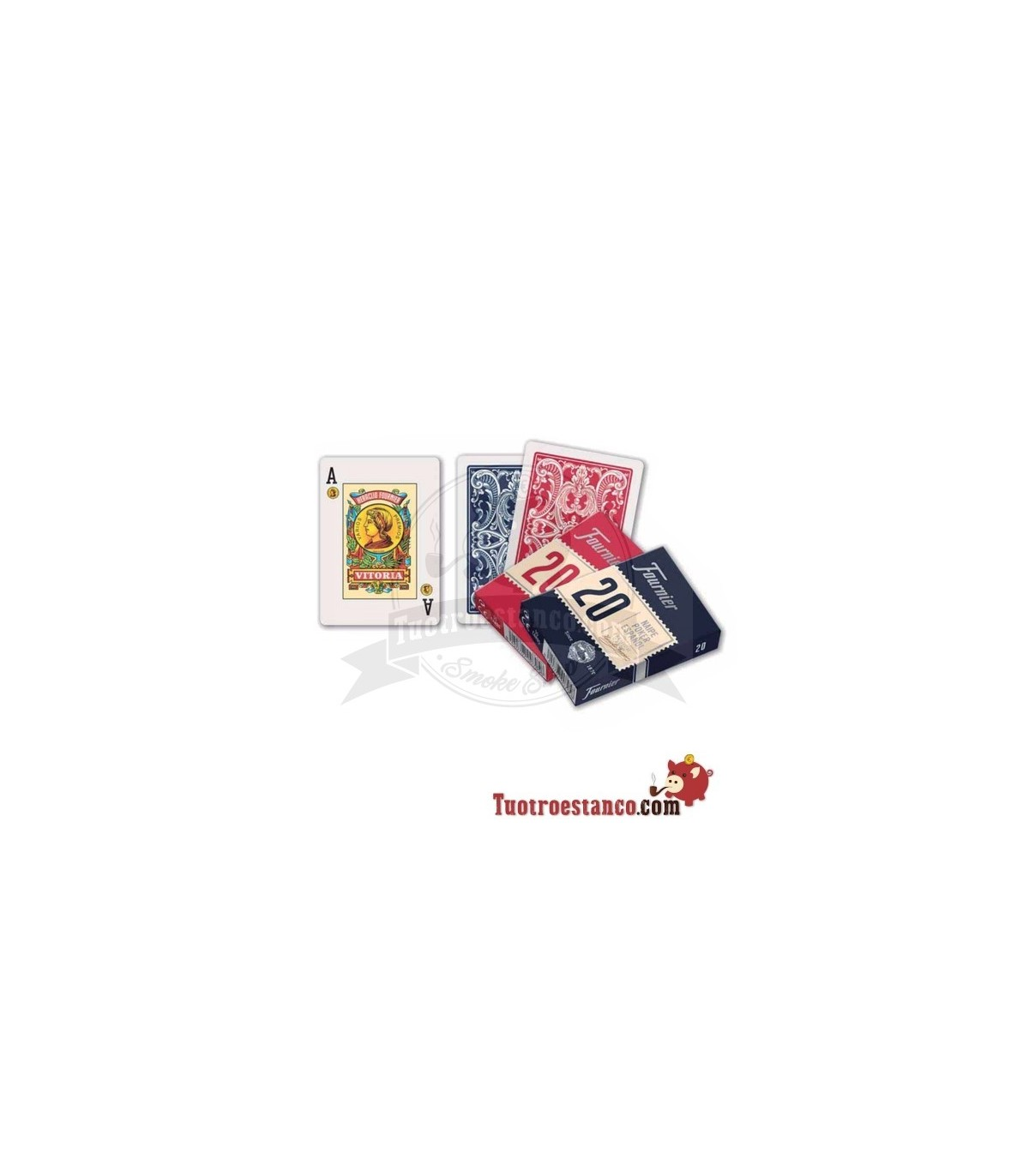 Deck Poker Fournier No 20