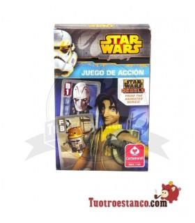 Cartas Star Wars Juego de Acción