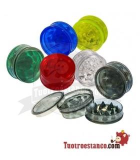 Grinders plastico diferentes colores