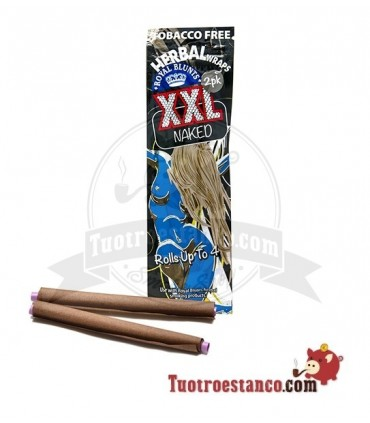 Papel XXL Royal Blunt de Cañamo 2u Natural