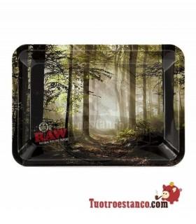Bandeja Raw Bosque 12,5x18 cm